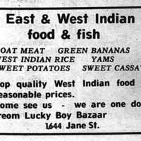 """East and West Indian Food & Fish"""